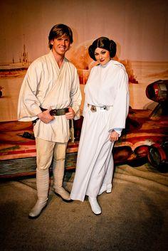 Luke Skywalker and Princess Leia by abelle2, via Flickr