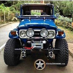 Classic Car News Pics And Videos From Around The World Toyota Lc, Toyota Fj40, Toyota Trucks, Toyota Cars, 4x4 Trucks, Toyota Cruiser, Fj Cruiser, Daihatsu, Carros Toyota