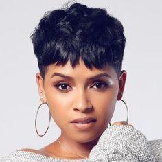 Short pixie wigs for black women human hair wigs lace front wigs african american women wigs short pixie hairstyles Pixie Hairstyles, Braided Hairstyles, African Hairstyles, Hairstyles 2016, Pixie Haircuts, Trending Hairstyles, Latest Hairstyles, Blonde Hairstyles, Trendy Haircuts