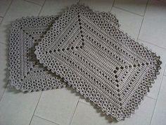 Home - Mimpit Portal Web Crochet Kitchen, Crochet Home, Love Crochet, Diy Crochet, Crochet Placemats, Crochet Doilies, Doily Patterns, Crochet Patterns, Crochet Carpet