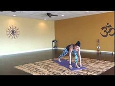 ▶ 20 min. Creative Cardio Yoga Flow for Butt, Hips and Core - YouTube