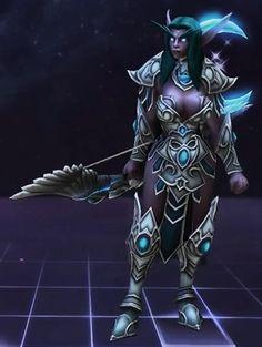 Tyrande  Hohepriesterin von Elune - Heroes of the Storm