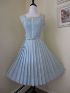 Late 40s early 50s Day Dress