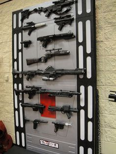 Wall display ideas for Star Wars collectibles