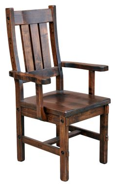 Joinery House | Timber Arm Chair