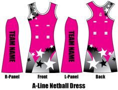 Why choose Game Clothing for your custom Netball Dresses? Netball Team Names, Netball Dresses, Line, Designer Dresses, Goal, Athletic Tank Tops, Sporty, Design Ideas, Training