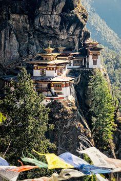 Tiger's Nest Monastery, Bhutan por MARJA SCHWARTZ en Fivehundredpx