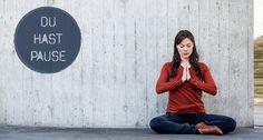 Die App #DuhastPause bietet geführte #Kurzmeditationen für den Alltag