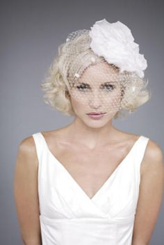 fashionable wedding short curly hairstyles trend autumn 2011