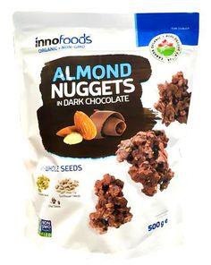 Organic almond nuggets and seeds in delicious dark chocolate cluster Organic Non GMO Kosher Gluten free Vegan friendly No artificial ingredients Chocolate Clusters, Organic Chocolate, Vegan Friendly, Vegan Gluten Free, Chocolates, Almond, Seeds, Dark, Desserts