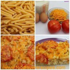GESONDE MACARONI EN KAAS - Food Lovers Recipes