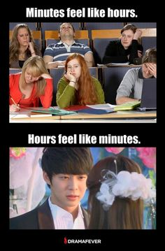 Watching hours of an asian drama really does feel like minutes #kdramahumor