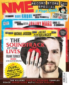 NME (UK)New cover NME magazine designed by their new art-director, who used to design The Big IssueArt Director: Mark NeilEditor: Mike WilliamsDeputy Art Director: Tony EnnisDesigner: Kat GodlontonPicture Director: Zoe CapstickDeputy Picture.