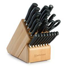 wusthof gourmet 18 piece knife block set >>> this is an amazon
