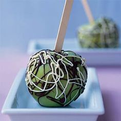Have your candy apple and be healthy too: Skip all that candy coating and drizzle dark chocolate on apples for a sweet and healthy treat.
