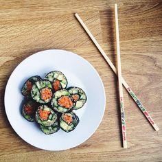 Vegan Quinoa Avocado Sushi