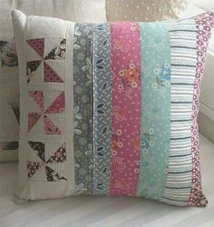 Inlike the odea of stripes and one row of patchwork block