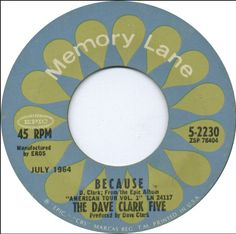 "the dave clark five ""because"""