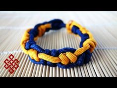 Inception Snake Knot Paracord Bracelet Tutorial - YouTube