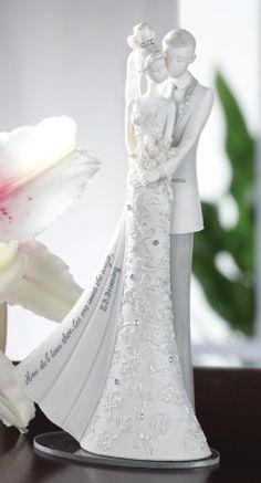 Language of Love My Love Wedding Cake Topper Figurine