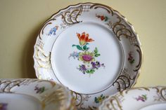 Fraureuth early 20th century hand-painted by MyVintagePorcelain