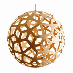 Love David Trubidge's Coral lamp and all the colors it comes in. Makes it real hard to choose