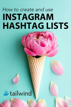 Yah! Finally a way to use hashtags on Instagram that isn't a pain. Create your lists in Tailwind and get more organized. https://blog.tailwindapp.com/hashtag-lists-in-tailwind/