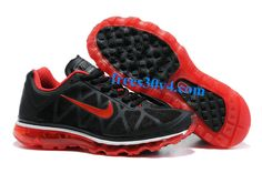 Womens Black Sport Red Nike Air Max 2011 Running Shoes