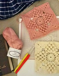 crochet in a box and things on my hook – CrochetObjet by MoMalron