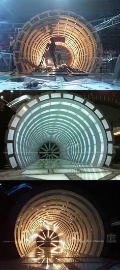 工程照片之四   时光隧道场景