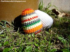 Free Patterns by H: Easter Egg Amigurumi
