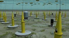 Energía eléctrica a partir de las olas marinas