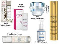28 cremes com ácido hialurônico para comprar - preço e descrição Aging Cream, Perfume, Avon, Hair Beauty, Make Up, Skin Care, Photoshop, 30, Bottle