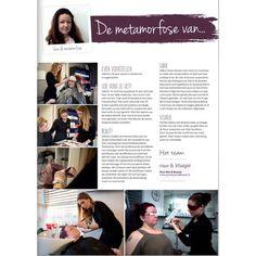 De nieuwe Pure Hair and Beauty #metamorfose staat weer in het @foryoumagazinenl  #Almere! #nieuwsgierig? Neem een exemplaar mee uit onze #beautysalon #massagesalon #nagelstudio. Ook een metamorfose ondergaan? Neem contact met ons op.