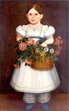American Folk Art on Canvas: Portraits Gallery 1