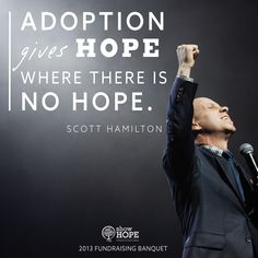 #TBT to last year's fundraising banquet featuring #ScottHamilton! To register for this year's banquet featuring #MaxLucado, click here: http://showhope.org/fundraiser
