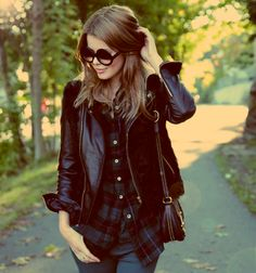 Leather + Flannel