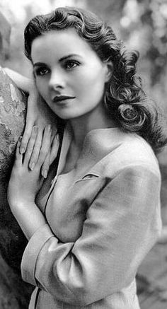 "Jeanne Crain (1925 - 2003) Motion Picture Actress. She earned an Oscar Nomination as Best Actress for her film ""Pinky"" (1949). She also appeared in ""State Fair"" (1945), ""Leave Her to Heaven"" (1945), ""Margie"" (1946) and ""A Letter to Three Wives"" (1949). She was married to actor Paul Brinkman."