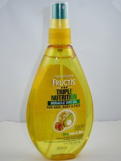 Garnier Fructis Triple Nutrition Miracle Dry Oil for Hair Body