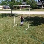 PVC Pipe Water Fun For Less Than $10!!!