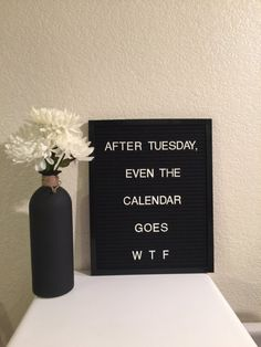 """11"""" x 14""""Felt Letter Board with plastic letters"""