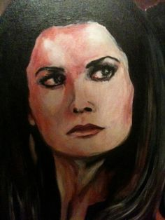"""Artwork from V The Final Battle """"5 minutes Before Critical Mass pt. 1"""" by Beatrice Tozzi --- feat. Jane Badler as Diana"""