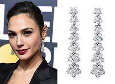 Red Carpet Looks: 2018 Golden Globes - Wixon Jewelers Memory Books, Golden Globes, Red Carpet Looks, Chandelier Earrings, Chandeliers, That Look, Friday, Jewels, Jewellery
