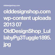 olddesignshop.com wp-content uploads 2013 07 OldDesignShop_LullabyPg3Tuggle1895.jpg