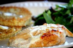 Melt in Your Mouth Parmesean Chicken Breast (THM S)