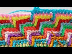 Tığişi Apaçi Stil Battaniye / Apachi Tears Stitch - YouTube