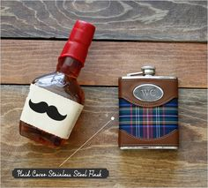 the classic flask for your groomsmen.