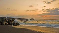 Misawa, Japan. Yeah...that's the ocean <3 Beautiful isn't it? :)