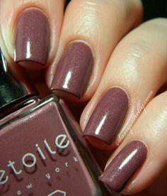 étoile new york ~ Winter Dusk  nail polish made with Real diamond dust!
