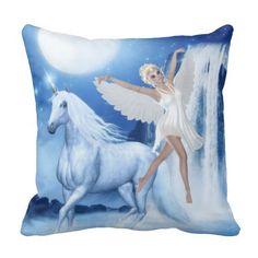 Sky Faerie Asparas and Unicorn Pillows http://www.zazzle.com/sky_faerie_asparas_and_unicorn_pillows-189463636937947547?rf=238703308182705739